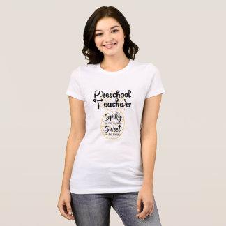 T-shirt préscolaire de professeurs d'ananas