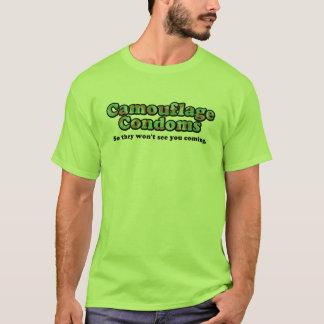T-shirt Préservatifs de Camo