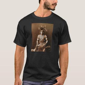 T-shirt Prêtre CA 1900 de serpent de Hopi