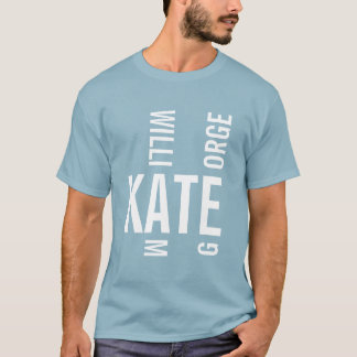 T-shirt Prince George Kate et William