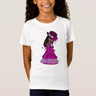 T-Shirt Princesse bébé - poupée d'Afro-américain