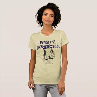 T-shirt Princesse courageuse