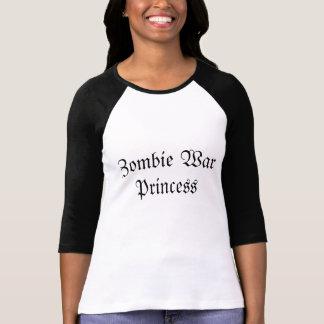 T-shirt Princesse de guerre de zombi