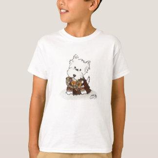 T-shirt Princesse de guerrier de Daphne