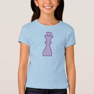 T-shirt Princesse d'échecs/reine d'échecs