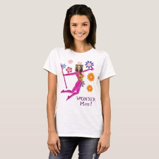 T-shirt Princesse Fairy Wand, Fushia rose - avec VOTRE Pho