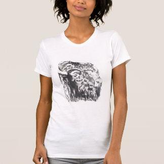 T-shirt principal de buffle