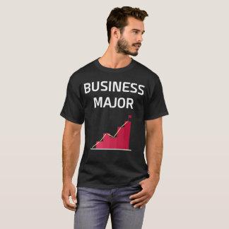 T-shirt principal de diplôme universitaire