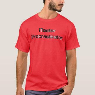 T-shirt principal de Procrastinator