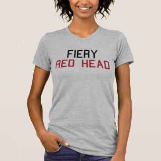 T-shirt principal rouge ardent Tumblr