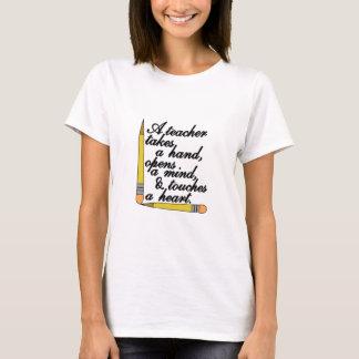 T-shirt Prises de professeur