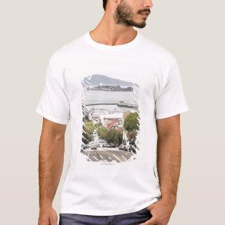 T-shirt Prison d'Alcatraz vue de San Francisco