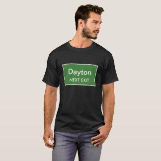 T-shirt Prochain signe de sortie de Dayton