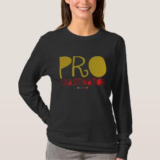 T-shirt procrastinator