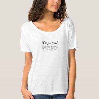 T-shirt Procrastinator professionnel