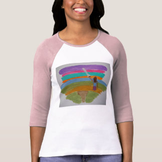 T-shirt Produit de miroir de perception dans le base-ball