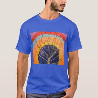T-shirt Produit de pièce en t réglée d'oeil de perception