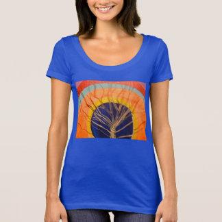 T-shirt Produit d'oeil de perception dans le trou du TreeT