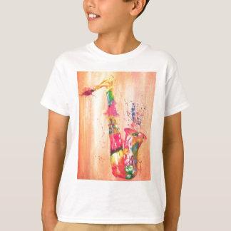 T-shirt Produits de saxophone