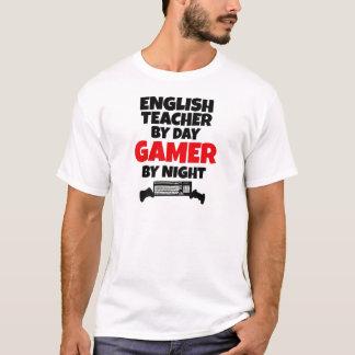 T-shirt Professeur d'Anglais par le Gamer de jour par nuit