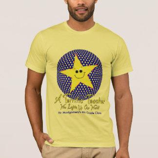 T-shirt Professeur terrible d'étoile de classe