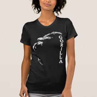T-shirt Profil de gorille avec le lettrage