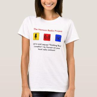 T-shirt Projet par radio de Hanson