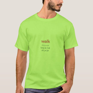 T-shirt - promenade comme si embrassant