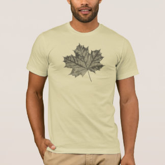 T-shirt Promenade de nature - érable