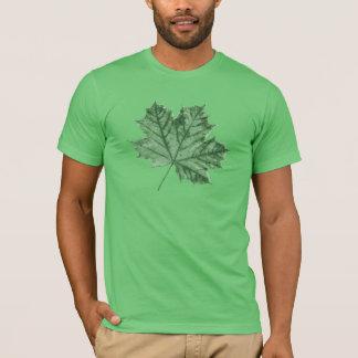 T-shirt Promenade de nature - vert d'érable