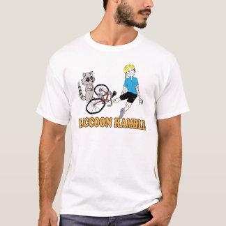 T-shirt Promenade de raton laveur