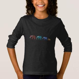 T-shirt Promenade d'éléphant africain