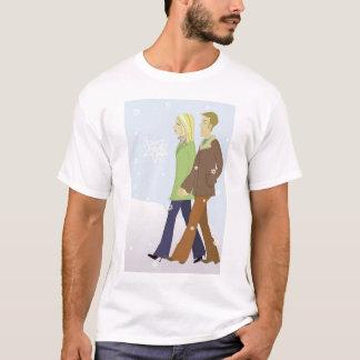 T-shirt Promenade d'hiver
