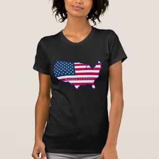 T-shirt Promenade en voiture pour la liberté - drapeau