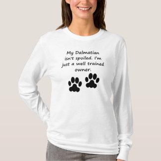 T-shirt Propriétaire dalmatien bien entraîné