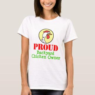T-shirt Propriétaire fier de poulet de jardin