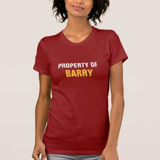 T-shirt Propriété de Barry