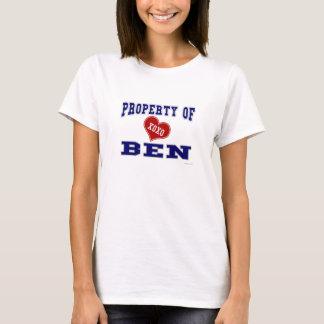 T-shirt Propriété de Ben