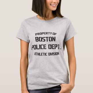 T-shirt Propriété de département de police de Boston