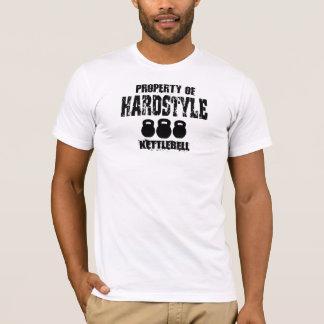T-shirt Propriété de Hardstyle Kettlebell