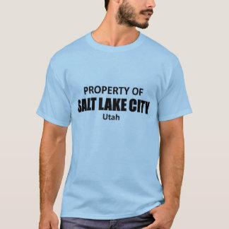 T-shirt Propriété de Salt Lake City