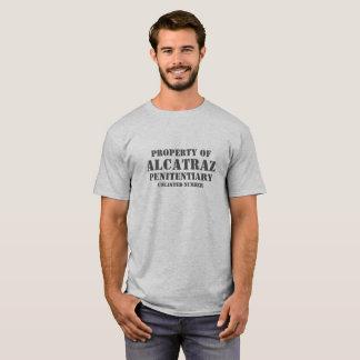 T-shirt Propriété de tee - shirt de prison d'Alcatraz