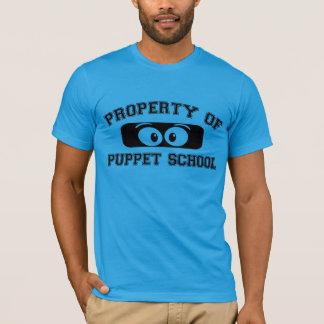 T-shirt Propriété d'école de marionnette