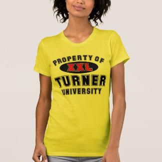 T-shirt Propriété d'université de Turner