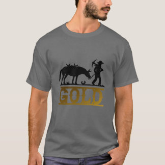 T-shirt Prospecteur d'or