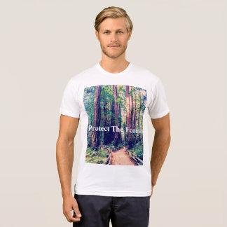 T-shirt Protégez la forêt