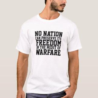 T-shirt Protégez la protestation de guerre d'arrêt de