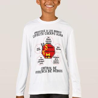 T-shirt Protégez les enfants ! Âme de corps d'esprit en