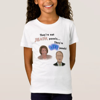 T-Shirt Protestation de panneau de la mort d'Obamacare