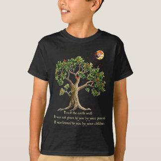 T-shirt Proverbe kenyan de nature